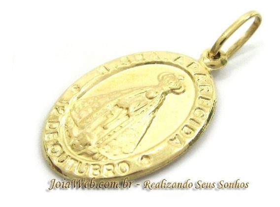 Joianete E9015-10290 Religioso Pingente Ouro Nossa Senhora