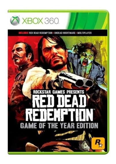Red Dead Redemption Edição Do Ano - Xbox 360 / One - Usado