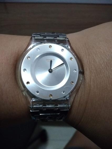 Relógio De Pulso Feminino Swatch Swiss Edição Limitada