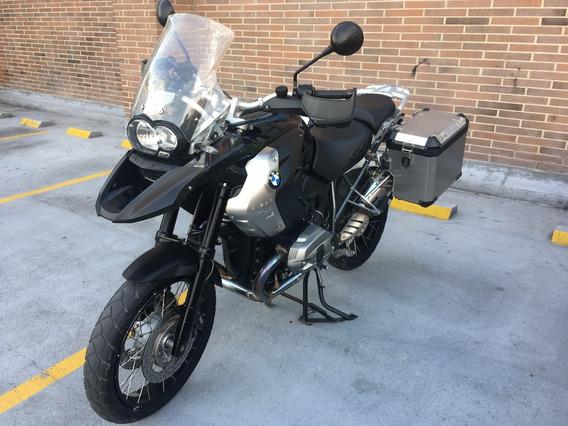 Bmw R1200gs Triple Black 2012 Barras+maletas En Aluminio