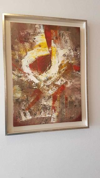 Obra De Arte S/t Del Maestro Patricio Bermeo 2005 (39x54cm)