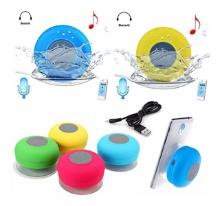 Parlante Bluetooth Portatil Ducha Resiste Agua Todos Celus.