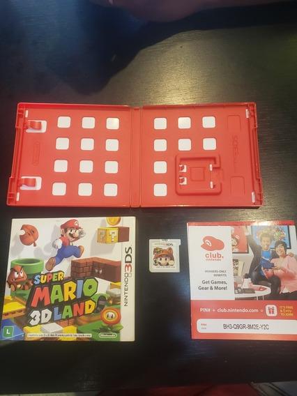 Jogo 3ds Super Mario 3d Land + Capa (luva) Em Português