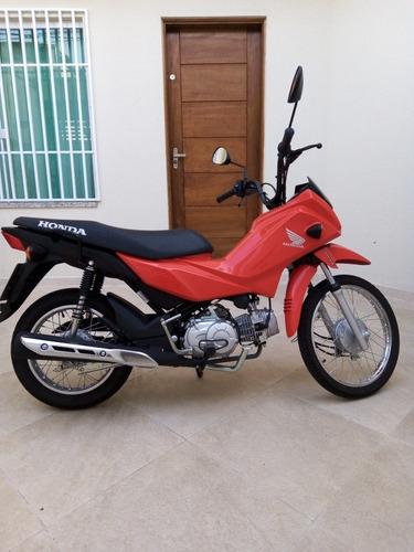 Honda Pop110i 2021 Vermelha 4 Marchas Econômica - Seminova