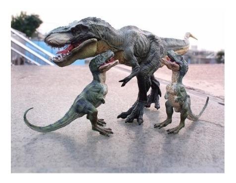 Kit 3 Dinossauro Tiranossauro Rex