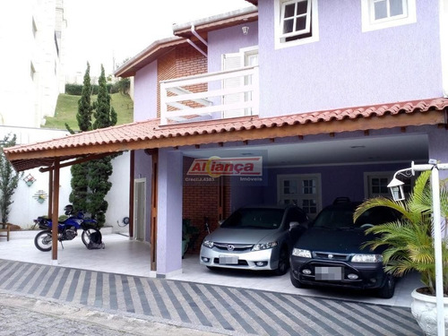 Sobrado Residencial À Venda, Vila Rosália, Guarulhos - So1529. - Ai8133