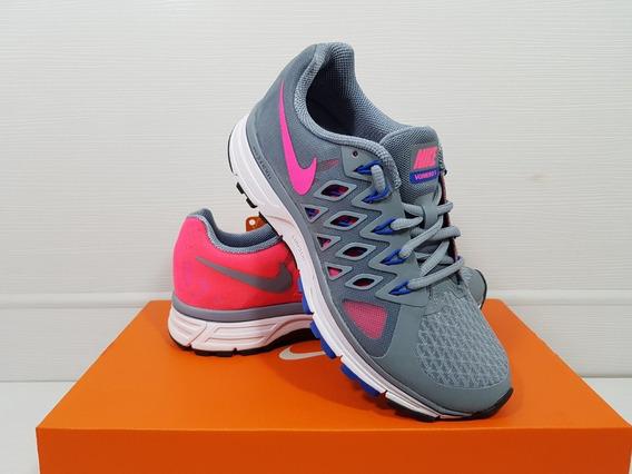 Nike Zoom Vomero 9 Tênis Feminino Cinza De Corrida Tam 35