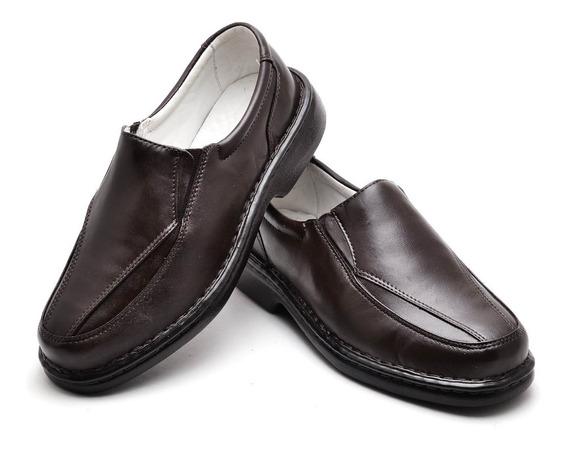 Sapato Anti Stress Couro Carneiro Legítimo Ranster