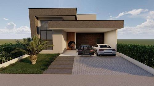 Imagem 1 de 12 de Casa Com 3 Dormitórios À Venda, 170 M² Por R$ 889.000 - Residencial Le France - Sorocaba/sp - Ca0822