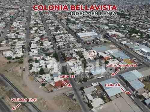 Bodega En Renta Col. Bellavista, Chihuahua