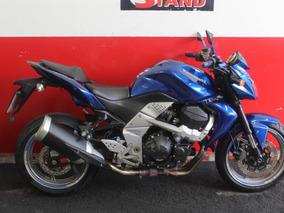 Kawasaki Z750 Z 750 Z-750 2009 Azul