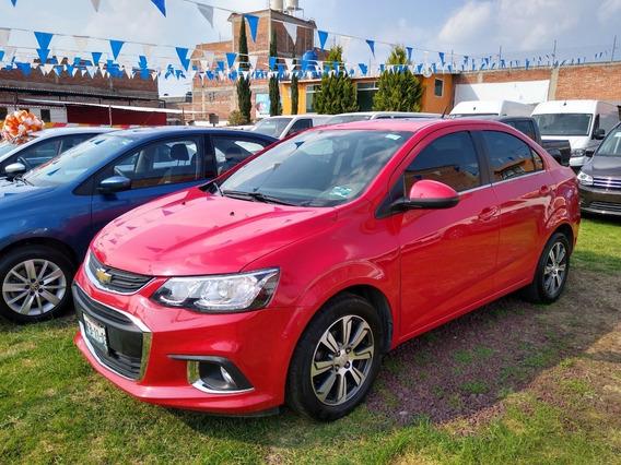 Sonic Chevrolet Automatico Rojo 2017