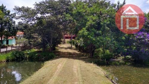 Chácara Com 4 Dormitórios À Venda, 4700 M² Por R$ 650.000,00 - Guaripocaba - Bragança Paulista/sp - Ch0221