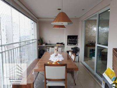 Apartamento Guarulhos Condomínio Supera, 110m², 2 Suítes, 2 Vagas, Aceita Permuta. - Ap0434