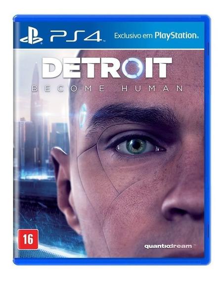 Jogo Detroit Become Human Mídia Física - Ps4