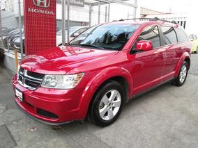 Dodge Journey Se 2013 Rojo