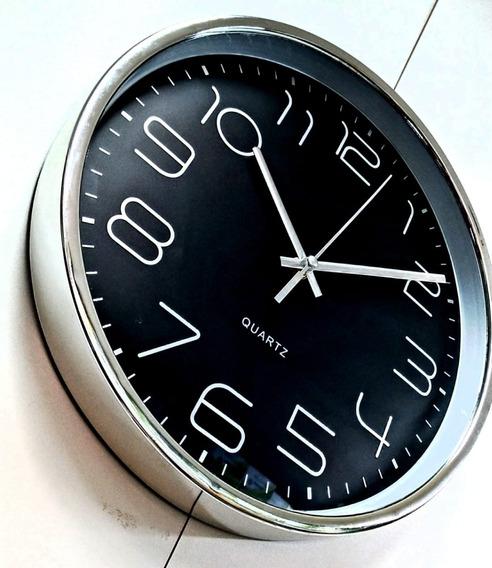 Relógio De Parede 30cm Continuo Modelo 612