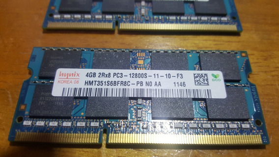 4gb Ddr3 Hynix Pc12800 1600mhz 1,5v Notebook/laptop Sodimm