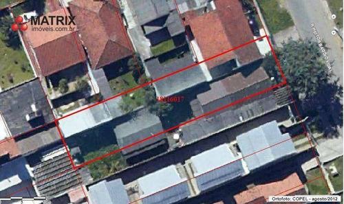 Terreno À Venda, 500 M² Por R$ 495.000,00 - Bairro Alto - Curitiba/pr - Te0943