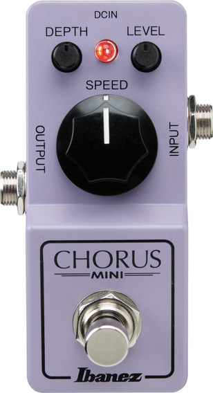 Pedal Chorus Ibanez Cs Mini Análogo Pronta Entrega C/ Nf-e