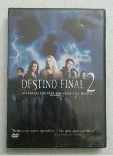 Dvd Destino Final 2 - Terror - Horror - Suspenso