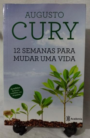 Antigo Livro 12 Semanas Para Mudar Uma Vida- A. Cury- 7891n