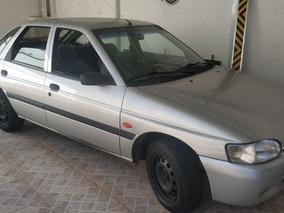 Escort Gl Zetec 1.8 16v Gasolina, Prata, 130.000 Km