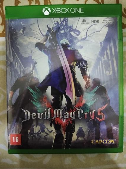Devil May Cry 5 Xbox One Mídia Física - Semi Novo