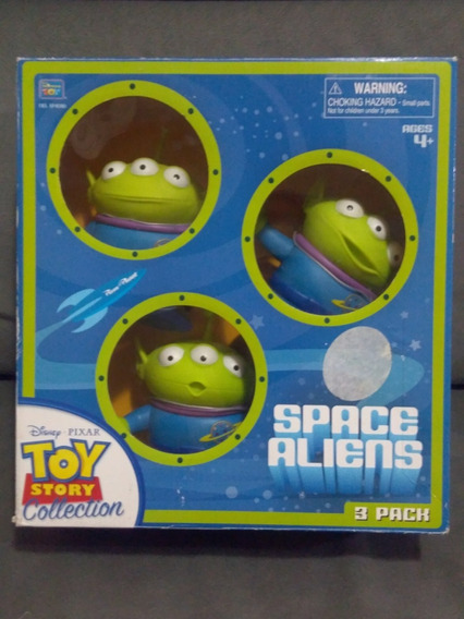 Aliens Toy Story Collection Space Pixar Disney Yellow