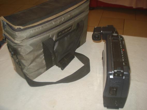 Sharp Filmadora Vhs Slim Vl-l72v Sem Acessórios (9)