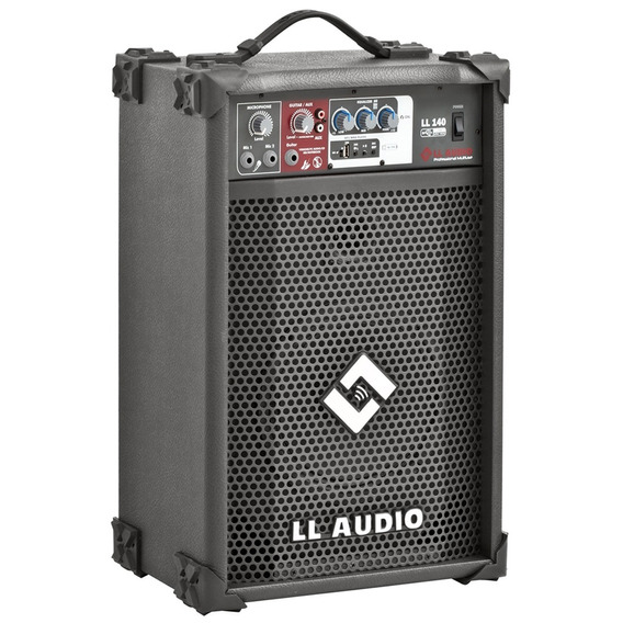Caixa De Som Amplificada Multiuso Ll140 35w /usb
