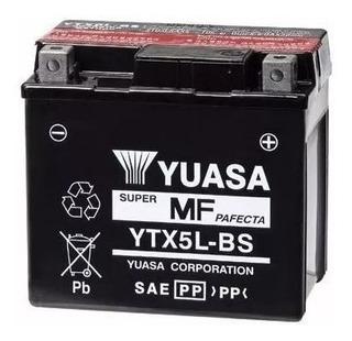 Bateria Moto Yuasa Ytx5l-bs Titan 150 Biz Fzi Solomototeam