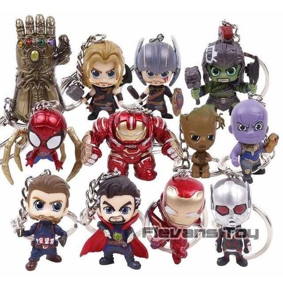Llaveros Avengers End Game Bobble Head Funko Keychain Marvel