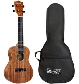 Kit Ukulele Shelby Concerto Su23m + Capa Soft Case