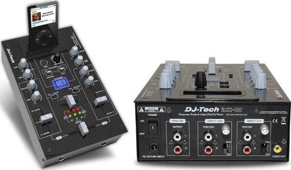 Mixer Imx 10 Dj Tech Na Caixa Lindo Para Dj,s Profissional