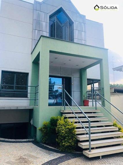 Sobrado Para Alugar, 336 M² Por R$ 8.500/mês - Ponte De Campinas - Jundiaí/sp - So0007