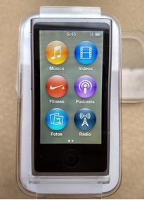 iPod Nano 7 Geração Caixa 16gb Cinza Rádio Excelente - Lfjq1