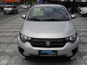Fiat Mobi Fiat Mobi Like 1;;0 4p 2018 Prata - Dml Veículos