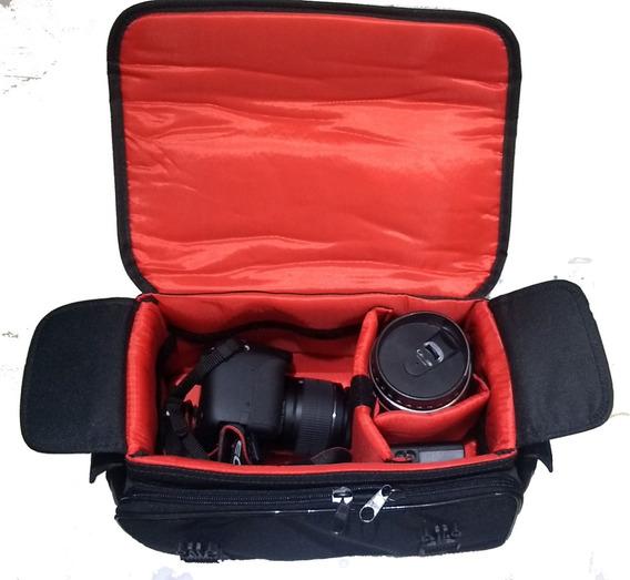 Bolsa Case Equip Fotog Indic West Nikon Canon Sonyfujifil