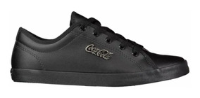 Tenis Coca Cola Marx Cc0800 Casual Preto