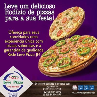 Rodizio De Pizza Em Casa, Peça O Orçamento Para Seu Evento!