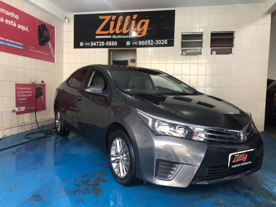Toyota Corolla 1.8 16v Gli Flex 4p 2017