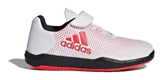 Tenis adidas Juniors Blanco Altaturf X K Training Cp9916