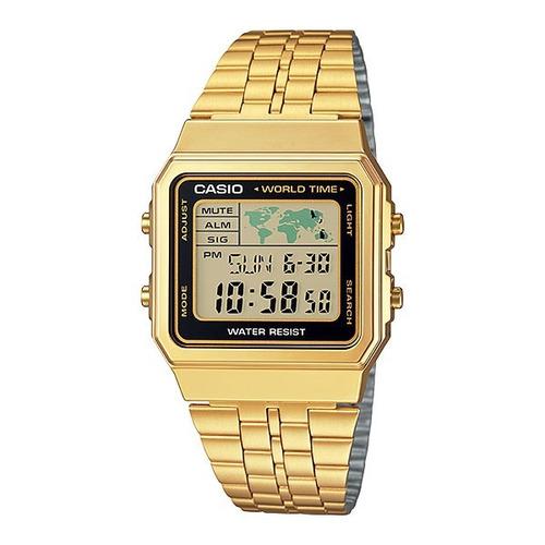 Reloj Casio Vintage A-500wga-1 Gtia 2 Años, Envio Gratis