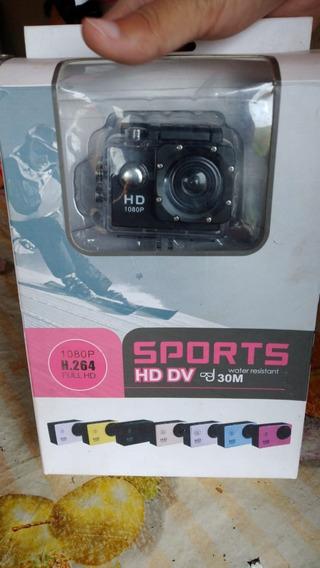 Camera Sports Hd Dv 1080p H.24 Watyer Resistant