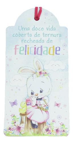 Enfeite Tag Decorativa De Páscoa P/ Presente E Decoração