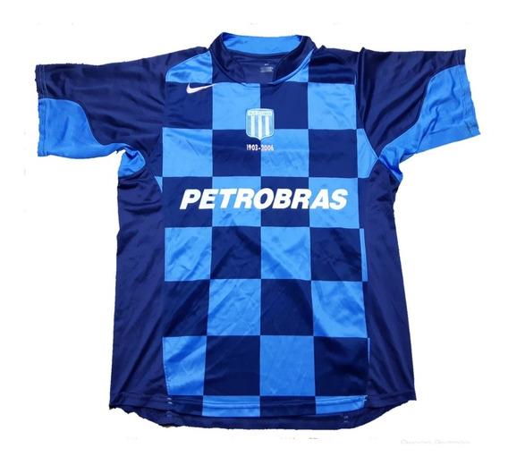 Camiseta Racing Club Nike Alternativa 2006 Con Numero 3