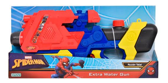 Spiderman Extra Pistola De Agua Water Gun Ditoys