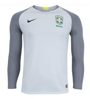 Camisa Goleiro Da Seleção Brasileira 2018 Nike