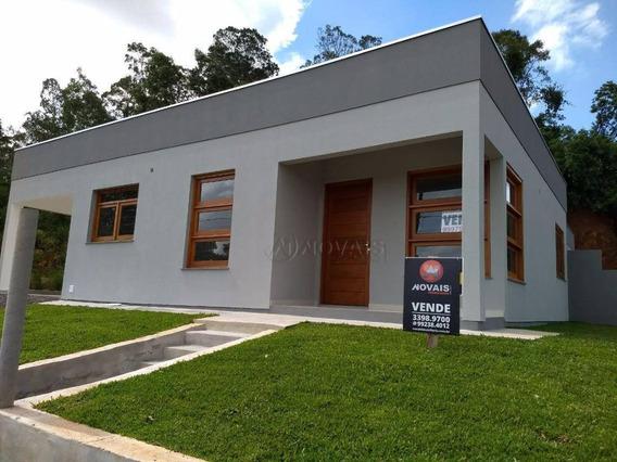 Casa Com 3 Dormitórios À Venda, 105 M² Por R$ 265.000,00 - Industrial - Dois Irmãos/rs - Ca1805